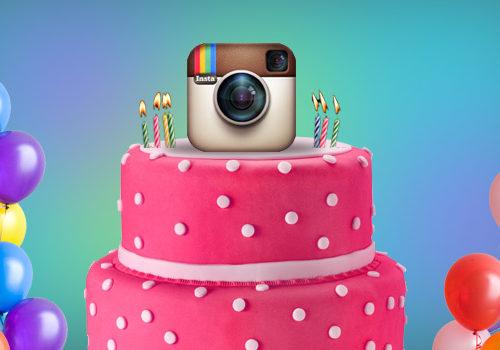 Happy Birthday Instagram Propeller